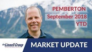 Pemberton September 2018 Market Update // Whistler Real Estate