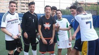 EPICA PARTITA DI CALCIO w/ ILLUMINATI CREW !!!