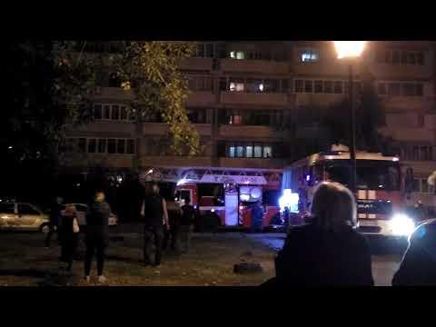 Пожар На Дьяконова 30А 13 этаж