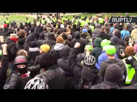 Etats-Unis : le «rassemblement pour la république» interdit se tient à Boston