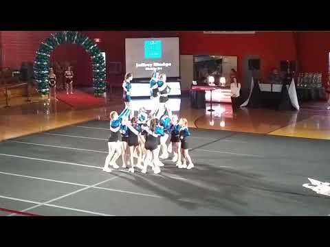 Jaffrey Rindge middle school cheerleading tournament #AstroBlast 2019