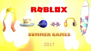 Roblox - Summer Games 2017 (Prizes)