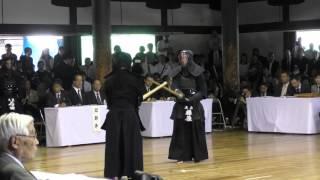 【高画質】第112回全日本剣道演武大会(作道正夫 対 藤原崇郎)
