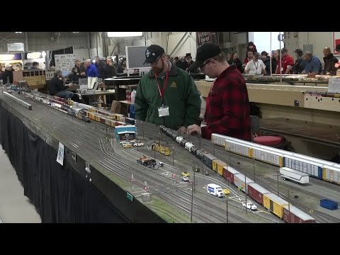 Amherst Railway Society Railroad Hobby Show 2017 - West Springfield, Massachusetts