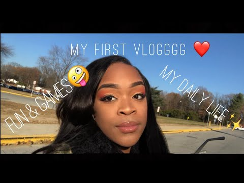 My First Vlog: A day with Nikia
