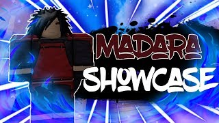 Edotensei Madara Full Showcase in Anime Battle Arena!   Roblox   TerraBlox