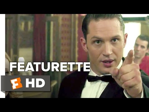 Legend Featurette - Tom Hardy (2015) - Tom Hardy, Emily Browning Movie HD