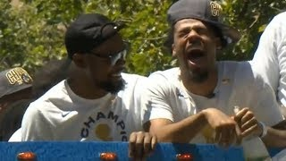 Golden State Warriors - Championship Parade Pt.6 / June 12, 2018
