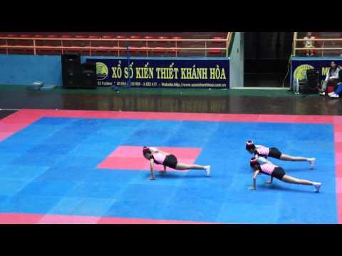 Bài thi thể dục aerobic tự chọn THCS - PGDĐT Nha Trang-HKPĐ Khánh hòa 2012