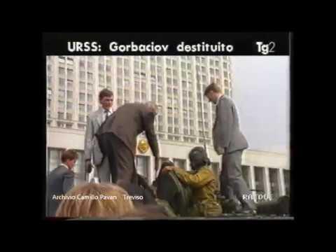 19 Agosto 1991 - Il Tg2 Delle 13 Annuncia Il Colpo Di Stato In Urss
