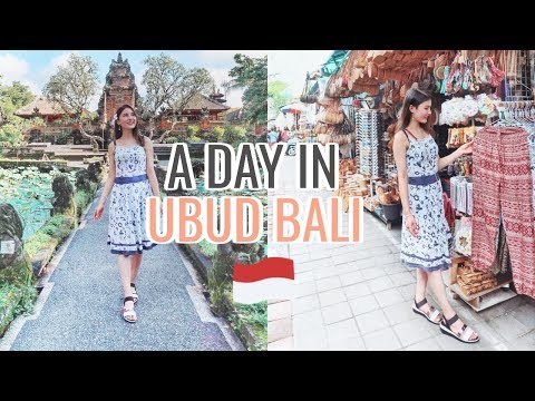 Exploring Ubud Market & Best Things To Do⎮Bali Trip 2018