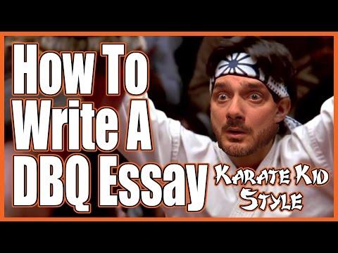 """How to Write a DBQ Essay (""""Karate Kid"""" Parody)"""