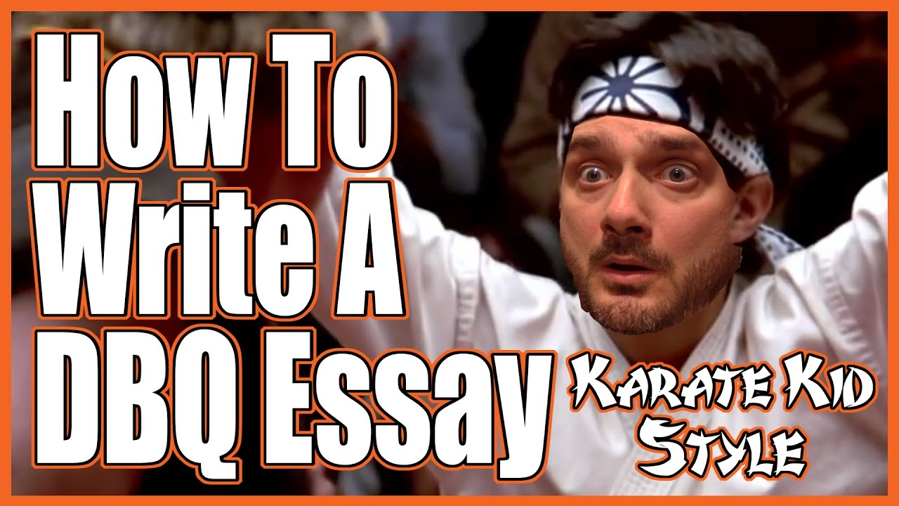 karate kid essay