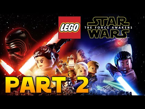 LEGO Star Wars: The Force Awakens Part 2 - Escaping The Finalizer!