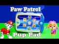 PAW PATROL Nickelodeon Ryder Pup Pack Paw Patrol Video Toys Review