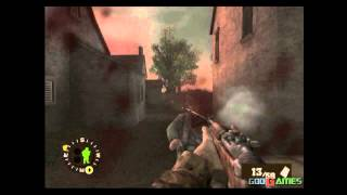Brothers in Arms: Earned in Blood - Gameplay PS2 (PS2 Games on PS3)