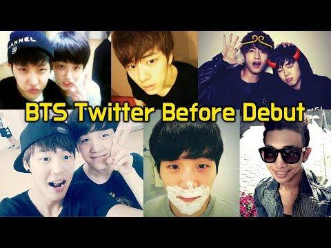 氚╉儎靻岆厔雼� 雿半窋 鞝� 韸胳渼韯� 氇潓 (雸堧欤检潣) BTS Twitter Before Debut (When they were trainees)