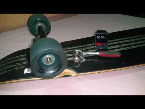 Powerslide ILQ 7 Bearings 45 Seconds Spining Test