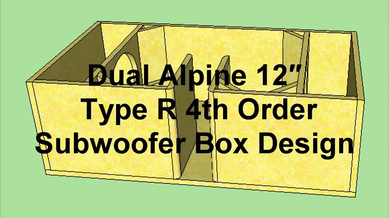 12 Inch Sub Box Designs (13)