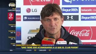 """""""Uno tiene que acomodarse a lo que el Club puede """":Hernán Cristante"""