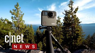 GoPro shows off Fusion 360 camera (CNET News)