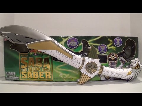 Legacy Saba the Talking Tiger Saber Review [Mighty Morphin Power Rangers]