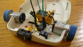 как сделать робота из компьютерной мыши
