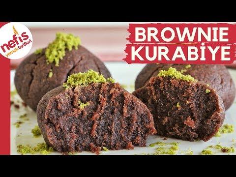 İşte O Meşhur Kurabiye! 😎 10 Dakikada Hazırladım, Anında Bitti 🙀   Brownie Kurabiye