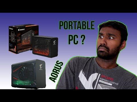 Travel/Portable Gaming External Graphics for Laptop   AORUS Gaming Box   - தமிழில்
