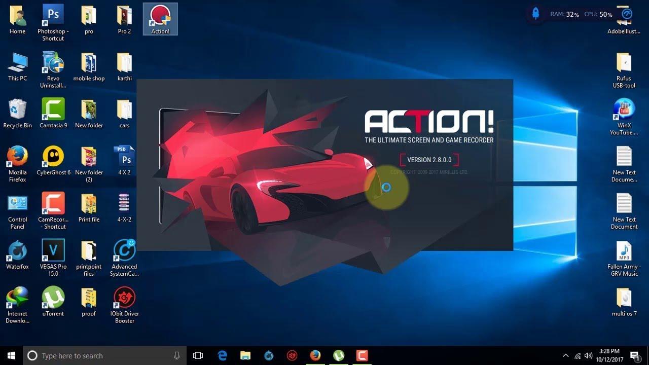 Action! 2.8.0 – Hướng Dẫn Cài Và Sử Dụng Phần Mềm Quay Video Màn Hình Action