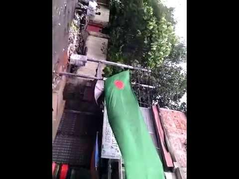 Brasil Flag- A long Flag in Chittagong Fans Created ,Bangladesh