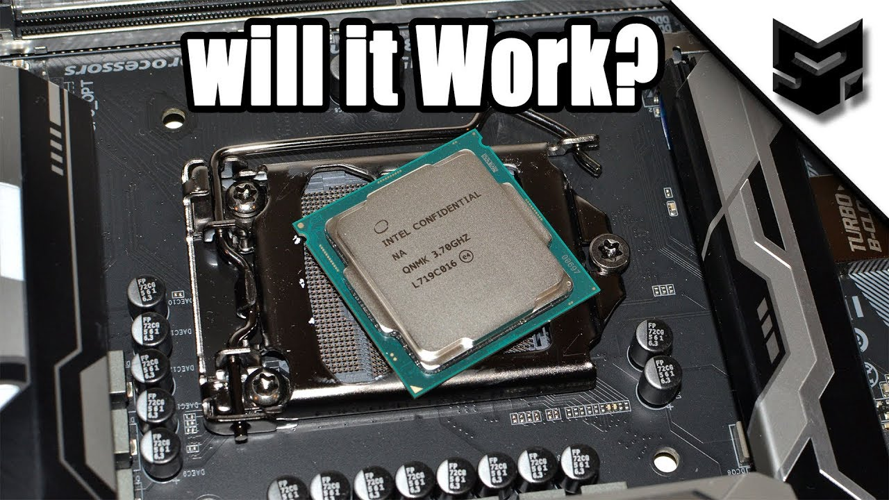 CoffeeLake Processor on 6/7th Gen Motherboard  Will It work? Answered !