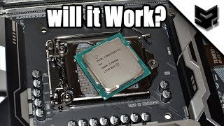 CoffeeLake Processor on 6/7th Gen Motherboard. Will It work? Answered !