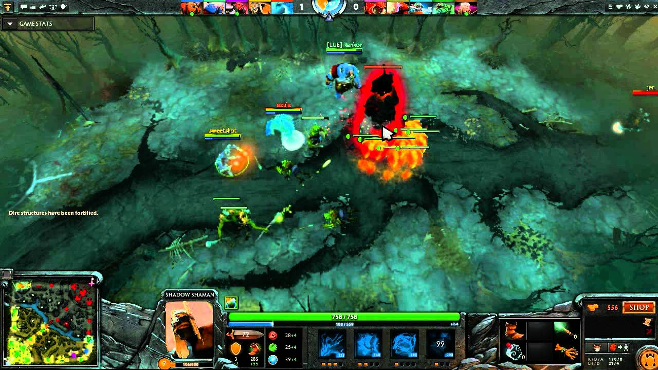 dota 2 pub stomping with shadow shaman guide youtube