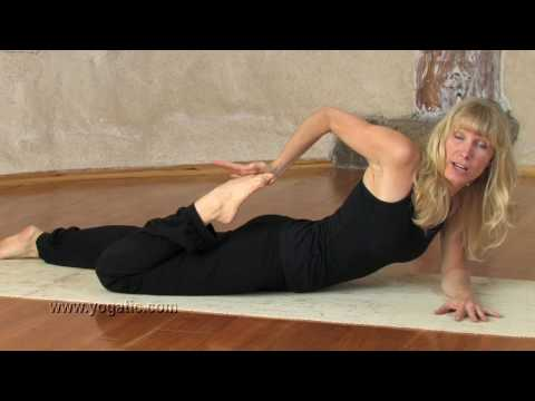 Yoga, Half Frog Pose or Ardha Bhekasana