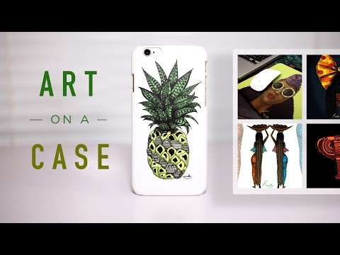 Beautiful African Art on your Phone Case - Review!