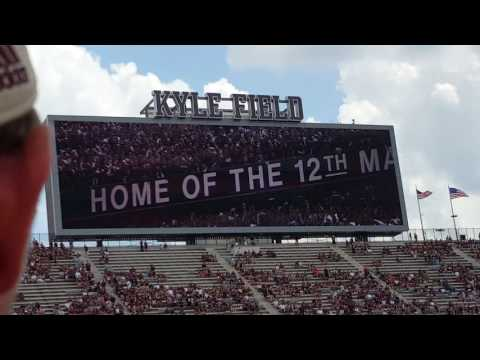 There's a spirit 2016 Texas A&M UCLA Kyle Field