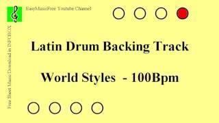 Baixar Forro World Styles - Free Latin Drum Backing Track - 100Bpm