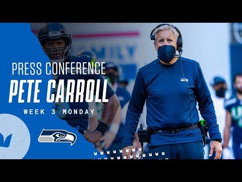 Pete Carroll 2020 Week 3 Monday Press Conference