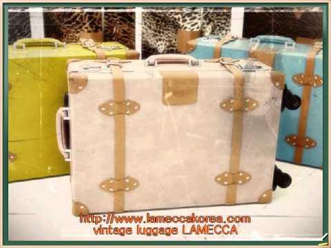 lamecca vintage luggage