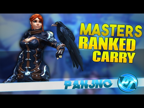 Masters Cassie CRAZY Ranked Carry Paladins Gameplay