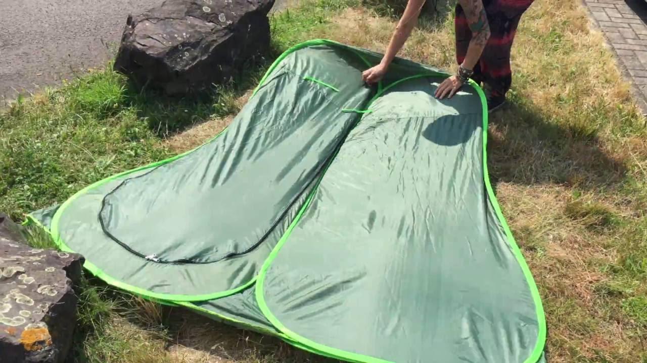 Aufbewahrungstasche AHPONEX Camping Duschzelt tragbares Wickelzelt Au/ßentoilettenzelt Seil einschlie/ßlich Zeltpflock Stange 120 * 120 * 180 cm