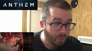 Anthem Official Cinematic Trailer (2018) Reaction!