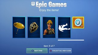 * SOFORT * New Free skins and rewards now unlock ! Fortnite x Splatoon Event