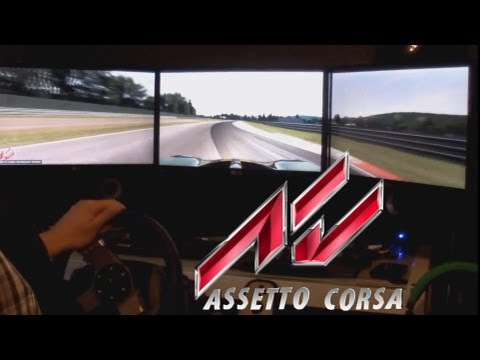 Assetto Corsa Triple Screens + G27 Eyefinity HD7950 OC 3 Gb Max Settings
