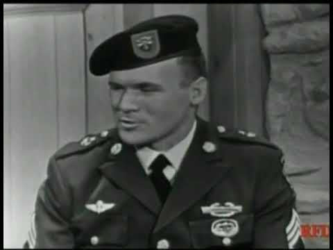 Sgt. Barry Sadler on the Jimmy Dean