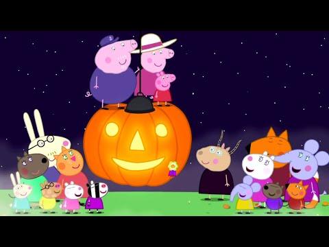 Peppa Pig English Episodes | Pumpkin Carving | Peppa Pig Official
