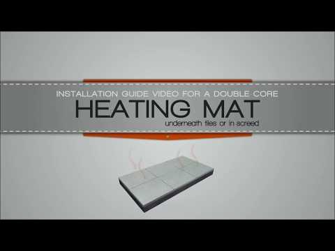 Underfloor heating mats installation Guide for Undertile   WarmOn