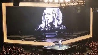 Adele concert Glasgow 26th March 2016