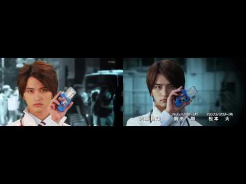 Kamen Rider Ex-Aid OP Comparison Horizontally